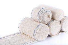 Rolls of medical bandages Stock Photo