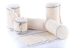 Rolls of medical bandages Stock Photography