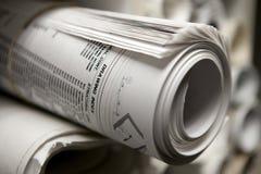 Free Rolls Of Blueprints Stock Image - 18663821