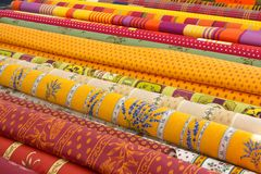 Rolls Of Fabric Royalty Free Stock Image