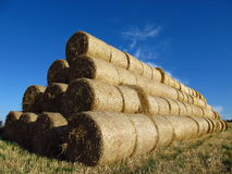 Free Rolls Of Hay Stock Images - 27106274