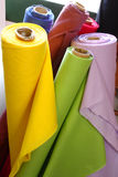 Rolls Of Material Royalty Free Stock Photos