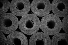 Rolls Of Roofing Felt Stock Photography