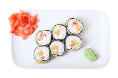 Rolls Oma Roru top view Royalty Free Stock Image