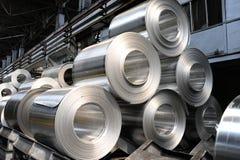 Rolls os steel Stock Image