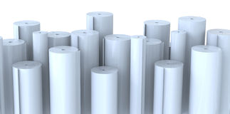 Rolls of paper Royalty Free Stock Photography