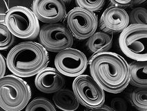 Rolls of paper texture Royalty Free Stock Image