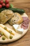 Rolls para o pequeno almoço Fotografia de Stock