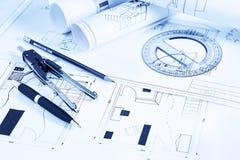 Rolls-Pläne Lizenzfreie Stockbilder