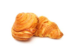 Rolls of puff pastry. Royalty Free Stock Images
