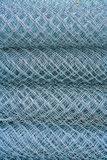 Rolls of rabitz type steel-wire plaster fabric Stock Image