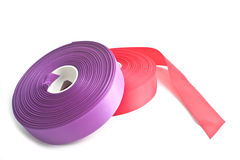Rolls of ribbon Stock Images