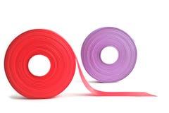 Rolls of ribbon Stock Image