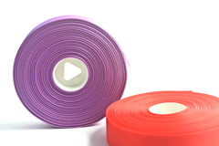 Rolls of ribbon Royalty Free Stock Photos