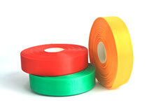 Rolls of ribbon Royalty Free Stock Images
