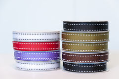 Rolls of ribbons Stock Photography