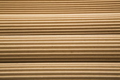 Rolls ripples corrugated cardboard background Stock Photo