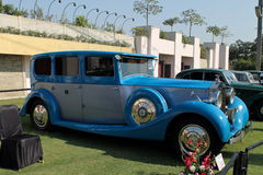 Rolls Royas. Vintage car captured at vintage car show at ahmedabad by Vintage car owners of india Stock Photography