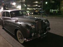 Rolls Royce, антикварный автомобиль стоковое фото rf