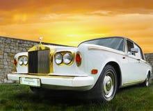 Rolls Royce, исключительный классический автомобиль Стоковое Фото