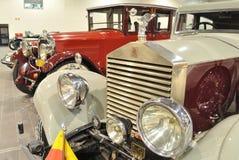 Rolls Royce 1927. Antique Car 1927 Rolls Royce in the automotive exhibition OLDTIMER BAZAR Stock Images