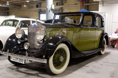 Rolls Royce 1937 Sedanca Devill Stockbilder