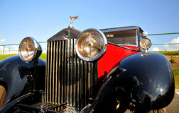 Rolls-Royce 20/25 hp Limousine. Rolls Royce logo and symbol Stock Images