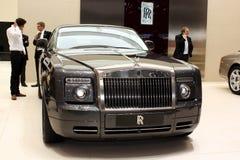 Rolls Royce 200EX en la demostración de motor 2010, Ginebra Fotos de archivo libres de regalías