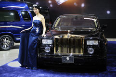 Rolls-Royce Auto Royalty-vrije Stock Foto