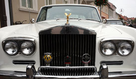 Rolls Royce blanc Photo stock