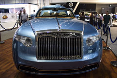 Rolls royce Blue Royalty Free Stock Photo