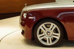 Rolls Royce in BMW-randtentoonstelling Stock Fotografie