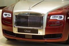 Rolls Royce in BMW-randtentoonstelling Royalty-vrije Stock Afbeelding