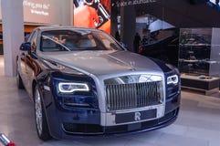 Rolls Royce car on display Stock Photography