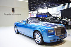 Rolls-Royce car on display at The 36 th Bangkok International Mo Stock Photo