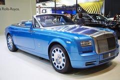 Rolls-Royce car on display at The 36 th Bangkok International Mo Royalty Free Stock Photo
