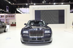 BANGKOK - MARCH 26: Rolls-Royce car on display at The 34th Bangkok International Motor Show on March 26, 2013 in Bangkok, Thailand Royalty Free Stock Photos