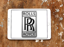 Rolls royce car logo Royalty Free Stock Photography