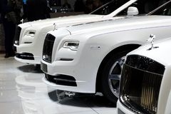 Rolls Royce cars royalty free stock photo