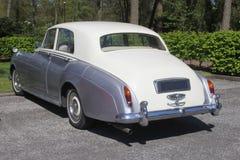 Rolls Royce classico, Paesi Bassi fotografie stock libere da diritti