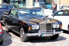 Rolls-Royce Corniche Royalty Free Stock Photo