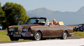 Rolls Royce Corniche II. 1977 Royalty Free Stock Photos