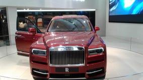 Rolls Royce Cullinan Sikt för sida för Ð-¡ ar arkivfoto