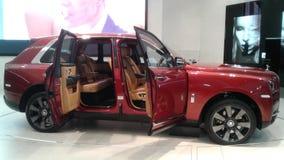 Rolls Royce Cullinan Sikt för sida för Ð-¡ ar fotografering för bildbyråer
