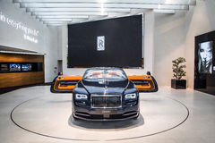 Rolls Royce Dawn an BMW-Museum Lizenzfreie Stockfotografie
