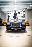 Rolls Royce Dawn at BMW museum Royalty Free Stock Photography