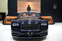 Rolls-Royce Dawn convertible supercar Royalty Free Stock Photo