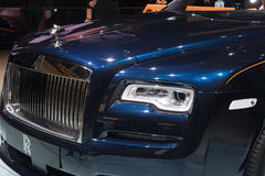 Rolls-Royce Dawn - world premiere. Royalty Free Stock Image