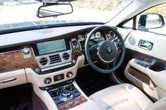 Rolls Royce-de ruimte van de Verschijningbestuurder Stock Afbeeldingen