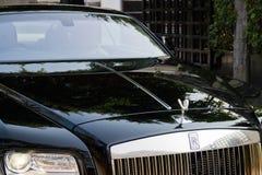 Rolls Royce-dekking van de Verschijning de voormotor Stock Afbeeldingen